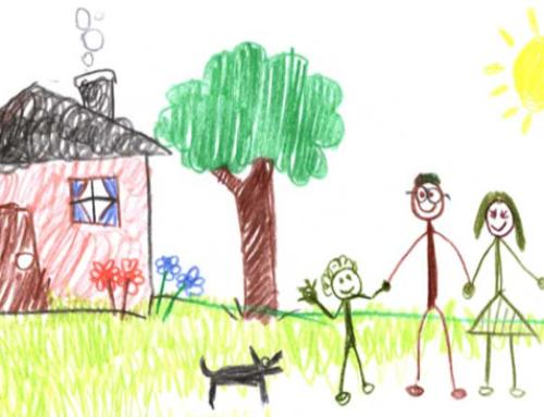 Μια παιδική ζωγραφιά.. Χίλιες λέξεις!